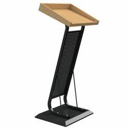 Pragati Systems MDF, Wood and Metal Podium PDS-01, Warranty: 1 Year