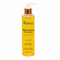 Kazima White Fairness Face Wash, For Personal, Packaging Size: 210 Ml