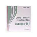 Glimepiride 1 Mg Metformin 500mg Tablet, Packaging Type: Strips, Packaging Size: 10 X 10