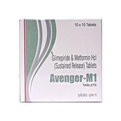 Glimepiride 1 Mg Metformin 500mg Tablet