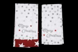 TCF Printed Set of 2 Kitchen Towel