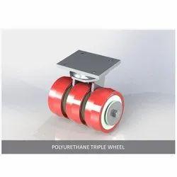 Polyurethane Triple Wheel