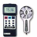 Anemometer, Metal Vane  Air Flow