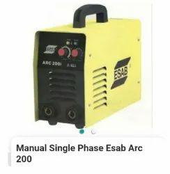 Esab manual single phase Arc 200