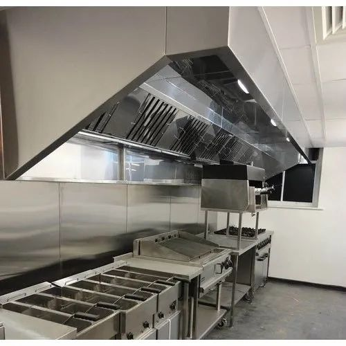 IAFV Stainless Steel Kitchen Exhaust Hood