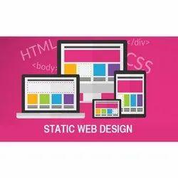 1 Months Static Website Designing Services