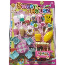 Toy Sweet House for Playing Kids