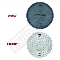 Round Manhole Cover Moulds - 18 (Dia- 450 X 50 mm)