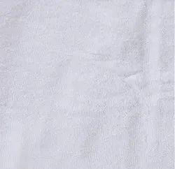 Sybaritic Cotton Hotel White Bath Towel, Rectangular, 450-550 GSM