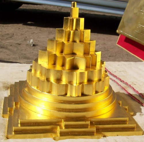 Gold Meru Shree Yantra - View Specifications & Details of
