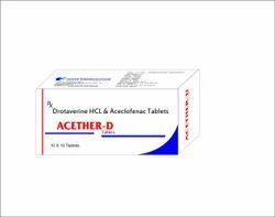 Drotaverine Aceclofenac Tablet