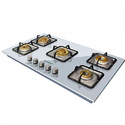 Lpg Faber Brass Built In Hobs, For Gas Stove, 5