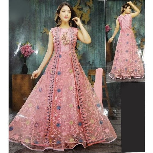 Net Party Wear Ladies Designer Suit Rs 1000 Piece Shri Durga Traders Id 20637168430