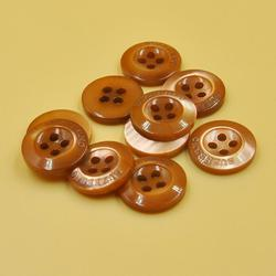 CR Tapes Brown Gents Plain Button