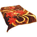 Multicolor Printed Mink Blanket