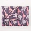 Cotton Animal Print Hand Block Printed Baby Jaipuri Quilt