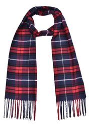 Ladies Winter Woolen Check Mufflers
