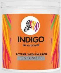 Indigo Silver Series Interior Sheen Emulsion, Packaging Type: Bucket