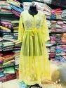 Georgette Full Chikankari Work Gown