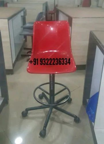 Student Writing Pad Training Chair, For Institute,
