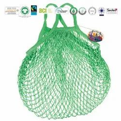 Eco Cotton Multi Colour String Bag