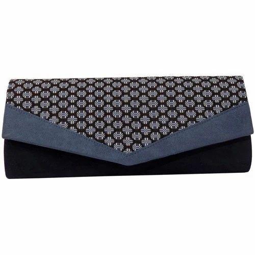 e34a59b4180f Female Rexine Formal Clutch Bag