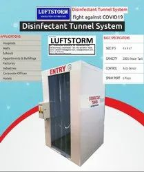 Disinfectant Tunnel System, Size/Dimension: 4ft X 4ft X 7 Ft