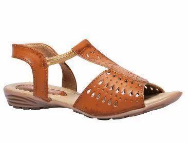 232a99fe220a90 Bata Tan Brown Women Sandals, Women Sandals - Bata Shoe Store ...
