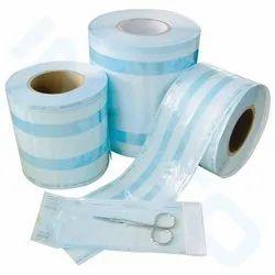 Medical Grade Paper SRS Sterilization Gusseted Roll, Size: 10 Cm X 100 Meters, Model Name/Number: SRSG1010