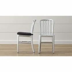 Non Foldable Powder Coated Stainless Steel Chair for Home, Restaurent