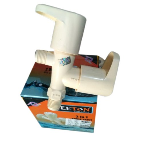 PTMT Ivory 2 In 1 PVC Angle Valve
