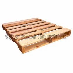 48 X 40 X 5.55 Inch Rectangular GMA Wooden Pallet