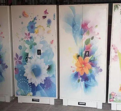 UV Printing on Steel Door