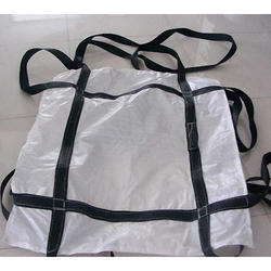 White And Black PP Sling Jumbo Bag