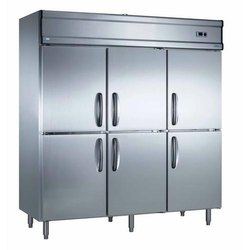 Stainless Steel Double Door Commercial Freezer, 803 Kwh/Yr, Capacity: 1288 litres
