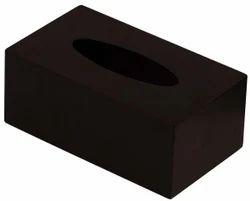 Brown Tissue Box Holder