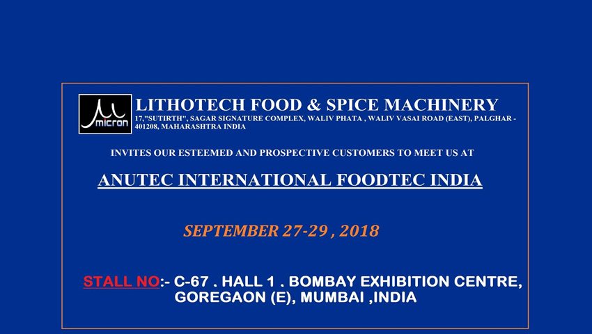 Lithotech Food & Spice Machinery