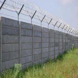 Readymade Precast Concrete Boundary Wall
