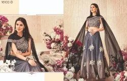 Grandiose Silk Embroidered Party Wear Lehenga Choli