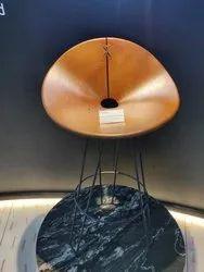 Matte Brown Relwood Exterior Waterproof Chair