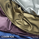 Color Foil Polyester Fabric