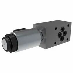 2/2 Directional Valve, Solenoid Operated, Poppet-Type, Pilot Operated, Modular
