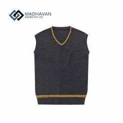 Winter Woolen Half Sleeves School Sweater