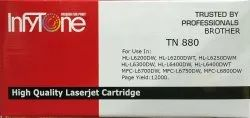 Brother TN 880 (TN 880) Compatible Black Toner Cartridge for Brother Printers