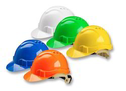 Violet HDPE Safety Helmet, for Industry