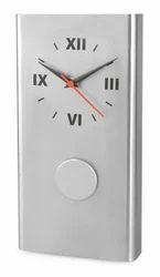 Stallion Metal Wall Clock