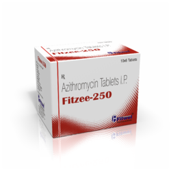 Fitzee- 250 Azithromycin Tablet 250mg, Manufacturer: Fitwel