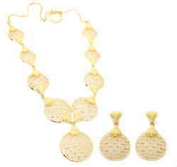 Forming Gold Necklace Set