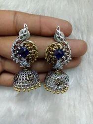 Oxidized Fashion Earring