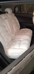 Car White Cotton Seat Cover